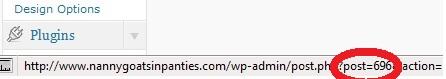 wordpress pageid