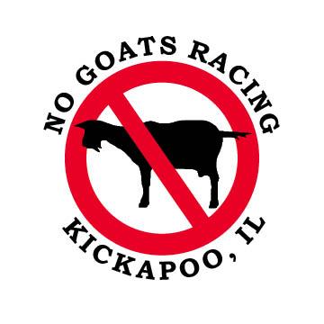 No Goats Racing logo