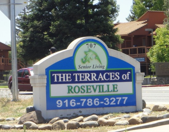 Terraces of Roseville, assisted senior living