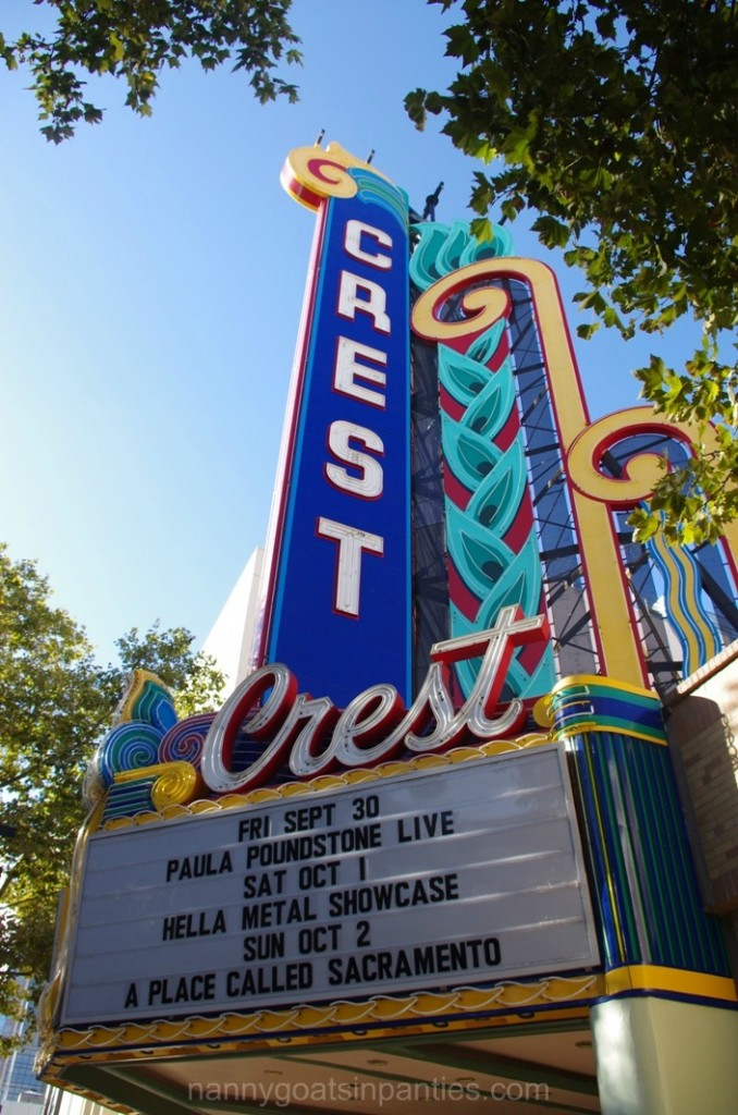 crest theater, sacramento, k street mall