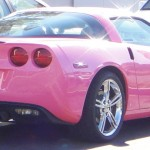 Angelyne, pink corvette, ANGELNN