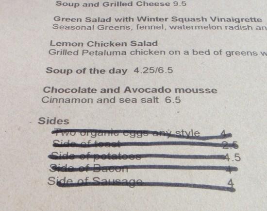 magpie menu, baconfest