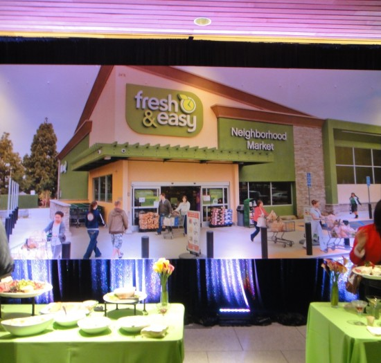 fresh & easy launch party, sacramento
