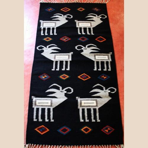 goats wool rug