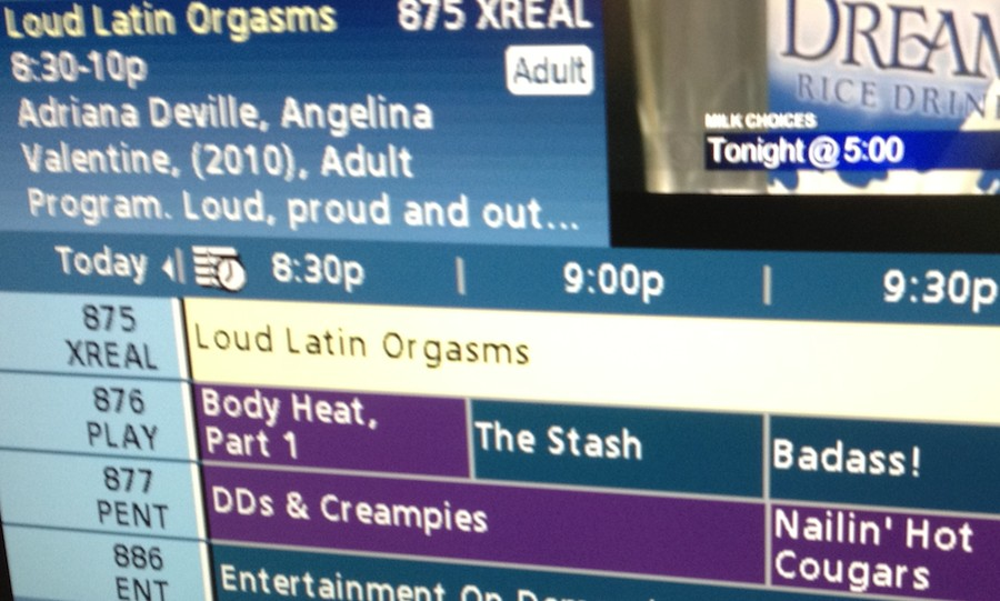 Listings porn tv satalite