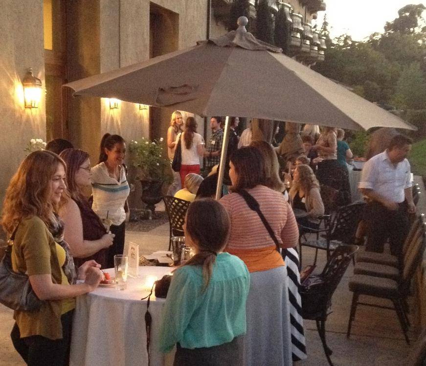 sacramento bloggers, le rivage hotel, meetup
