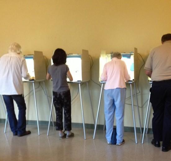 votin poll booths