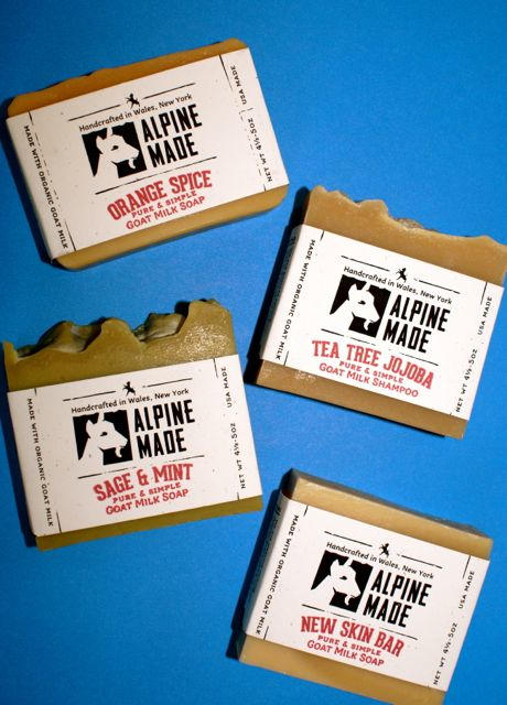 Alpine Made Goat Soap