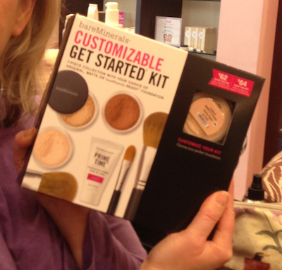 bare minerals, starter kit
