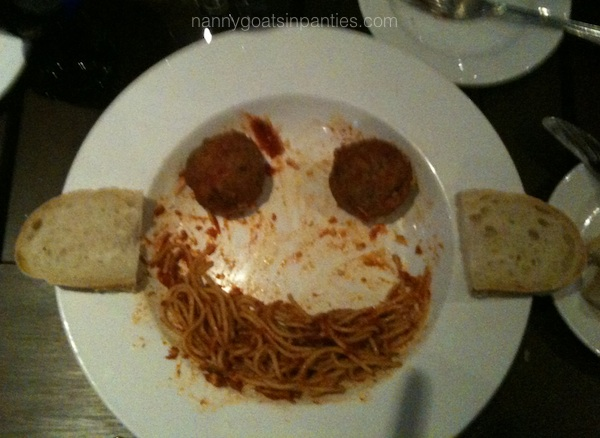 spaghetti, playing with your food