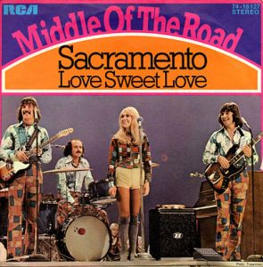 middle of the road sacramento cover