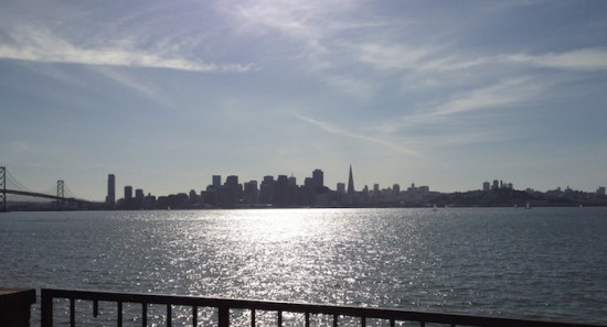 bay bridge and sf from treasure island 2