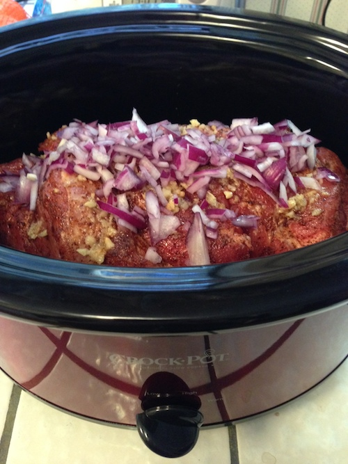 crock pot, bbq pork