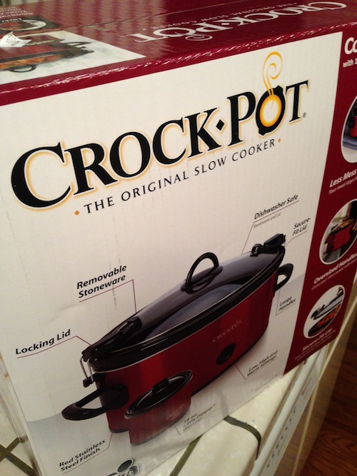 Crock Pots, and Other Reasons for Living