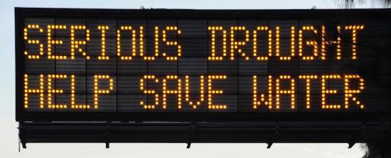 california drought, draught