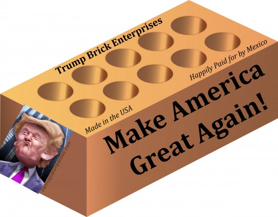 donald trump, make america great again, build wall