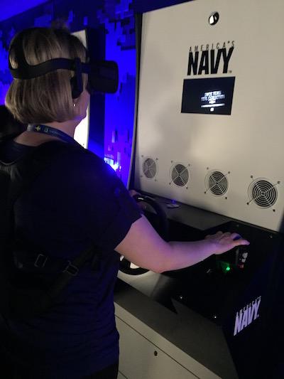navy, virtual reality