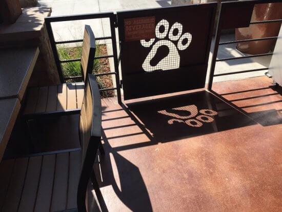 Lazy Dog Patio is Dog Friendly