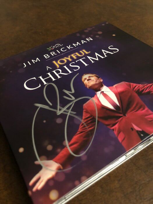 Jim Brickman Joyful Christmas CD DVD