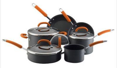 Rachael Ray 10 Piece Cookware Set