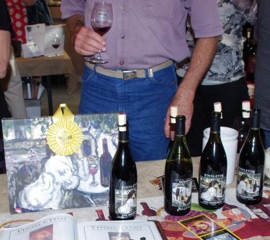 wine bottles, findleton winery, mourvedre
